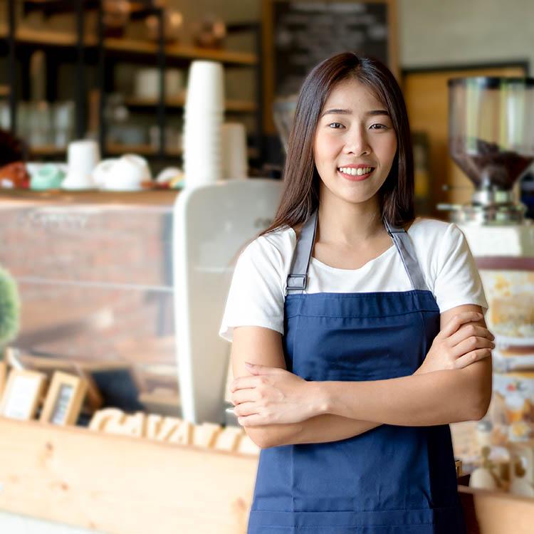 entrepreneur barista women