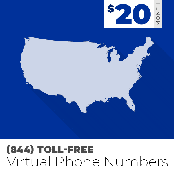 (844) Toll-Free Phone Numbers