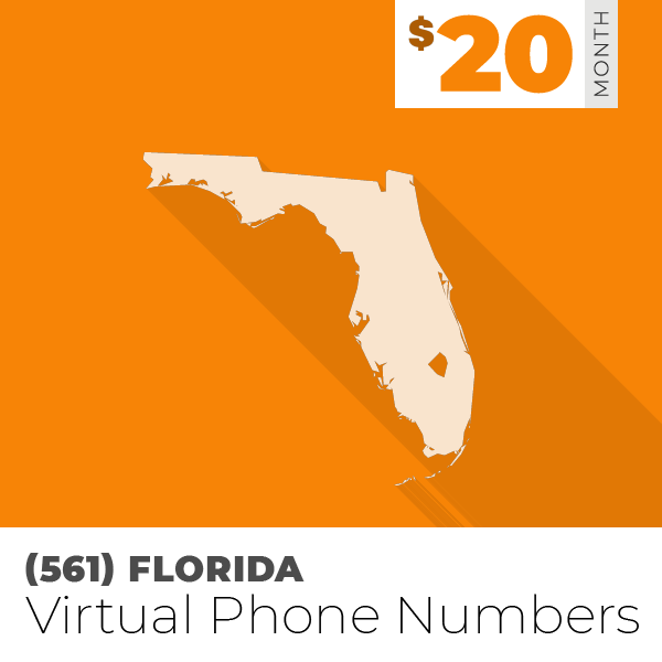 561) Area Code Phone Numbers For Business | $20/Month