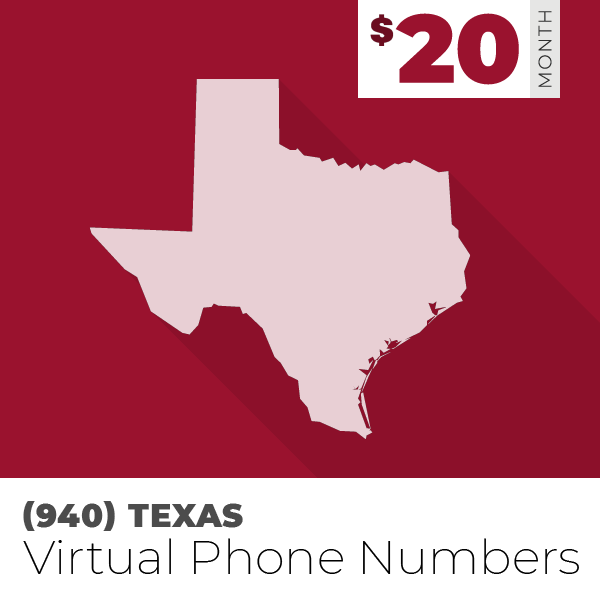 (940) Area Code Phone Numbers