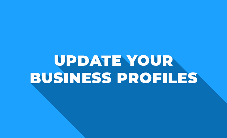 Update Your Business Profiles With Your New Number